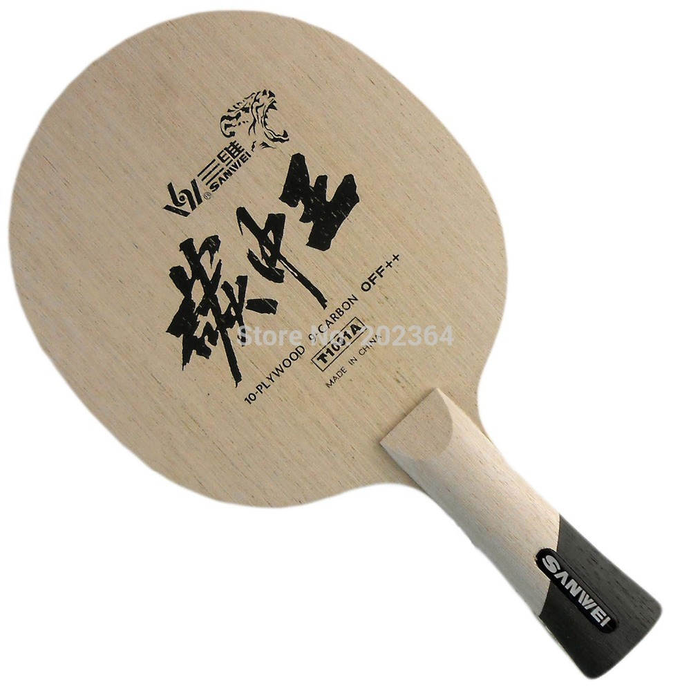 Sanwei T1091A  KING OF CARBON (10 plywood + 9 soft carbon) Table Tennis Blade for PingPong Racket king of hell volume 9