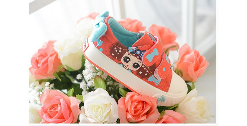 Canvas Children Shoes 17 New Baby Girls Princess Shoes Brand Kids Sneakers for Girls Denim Child Flat Toddler Shoes 2
