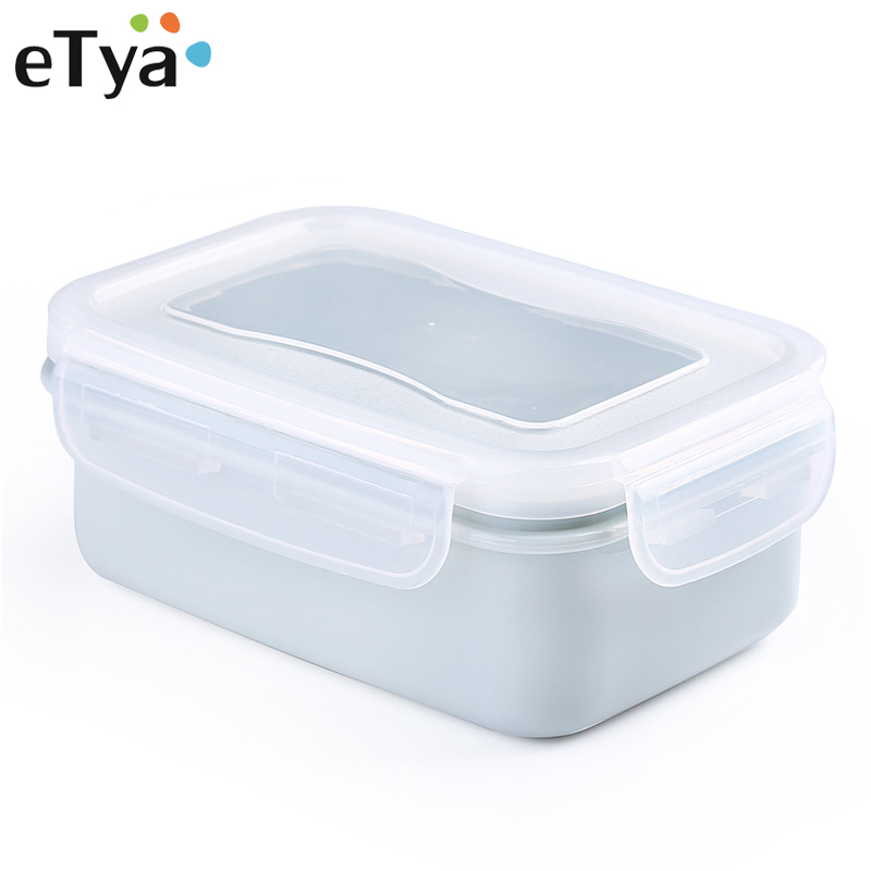 eTya Lunch Box Food Containers Storage Box Portable for Kids Picnic Set Picnic Food Case Fashion Women Lunch Bag