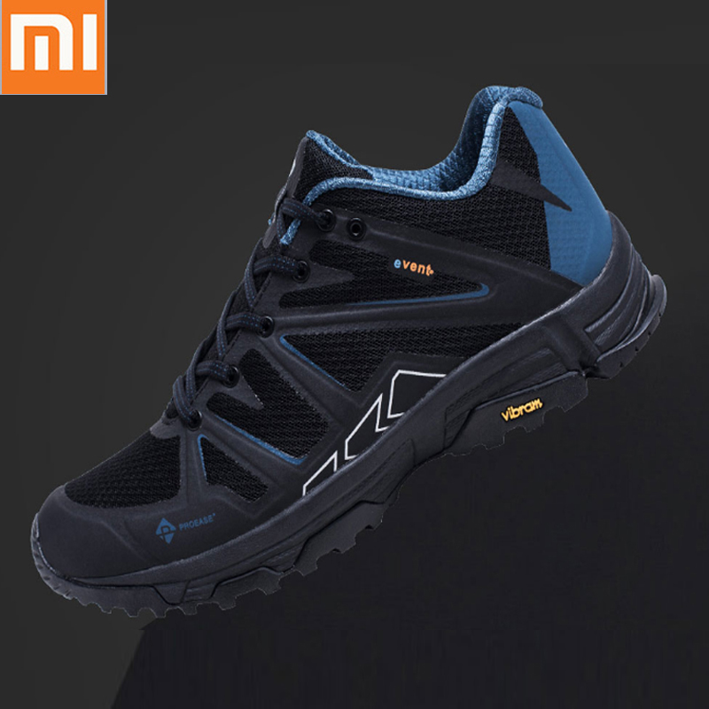 Xiaomi Mijia Proease Comfortable Waterproof Breathable Background V Running Outdoor Sneakers Shoes Anti-Slip-Shock For Man
