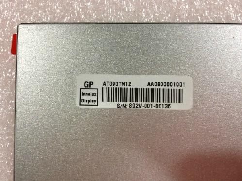 Original LCD  screen AT090TN12 free shipping y200 f30a f30g lcd screen b131ew01 qd13wl02