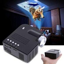 Mini Portable LED Mini Projecteur 1080 P Multimédia Home Cinéma VGA USB HDMI SD Carte Maison Jeu Vidéo Proyector Beamer