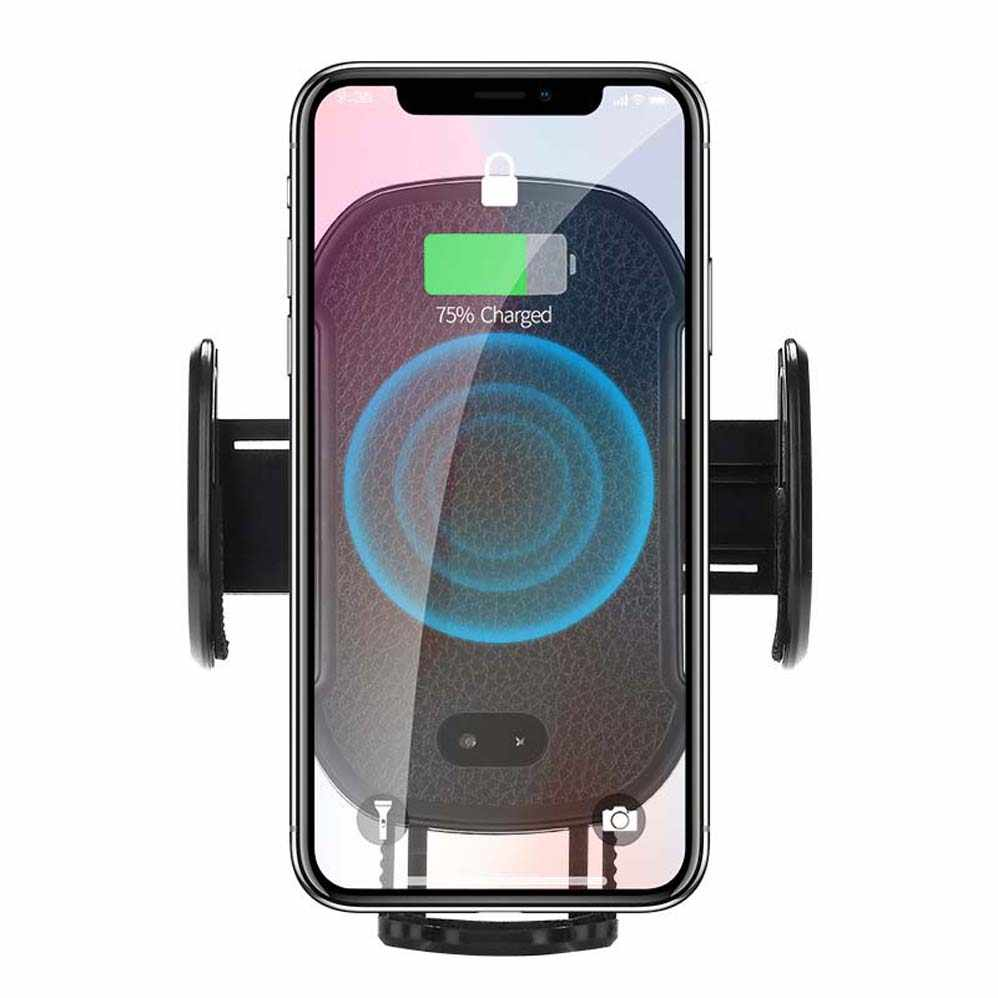 Wireless Car Charger Mount Black Samsung S10//S9//S9+//S8//S8+ by Mekkoz Sensor Auto Clamping 10W Fast Charging Air Vent Phone Holder Compatible with iPhone 11//11ProMax//Xs//Max//XS//XR//X//8