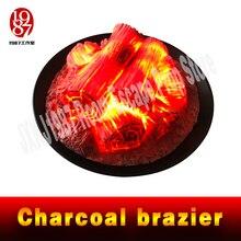 Évasion jeu prop rond cheminée électrique simulation charbon de bois brasero faux bois de chauffage bar KTV décoration artisanat noël JXKJ1987