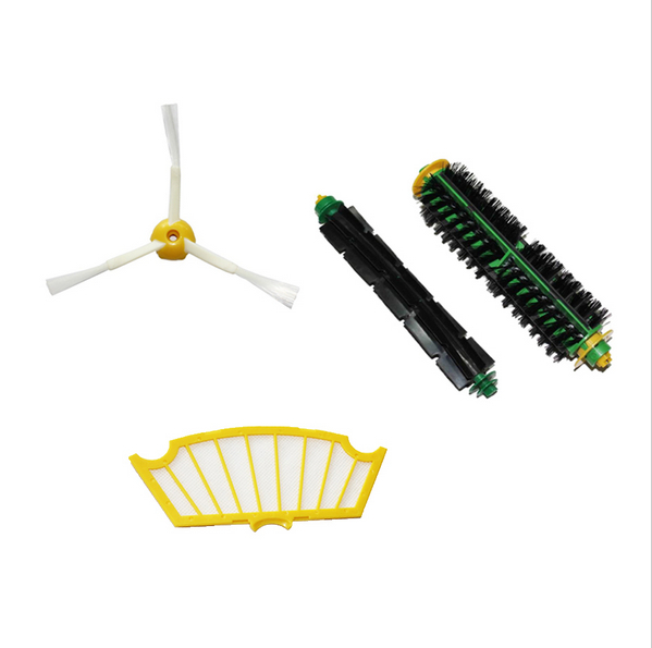 High quality Brush For iRobot Roomba 500 560 510 550 570 580 Bristle Brush Flexible Beater Brush and sidebrush free shipping 1pcs lot j112y imitation of brass wire brush for cleaning and polishing wooden brush diy using high quality on sale