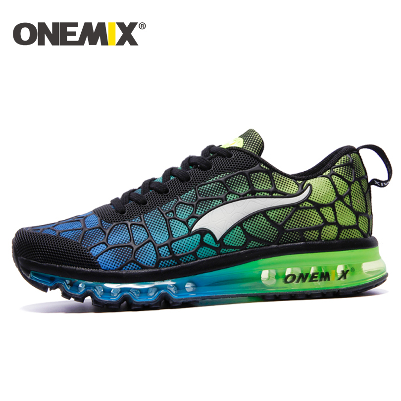 ONEMIX 2016 yastığı sneaker orijinal zapatos de evbre kişi idman - İdman ayaqqabıları - Fotoqrafiya 3