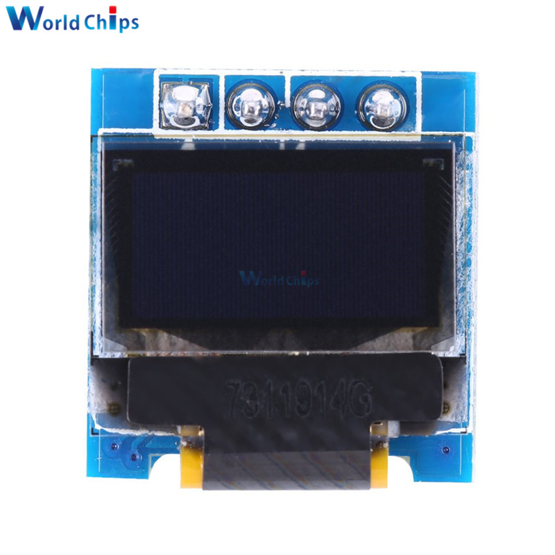 "0.49/"" OLED Display Module 64x32 I2C IIC SSD1306 for Arduino AVR STM32 White//Blue"