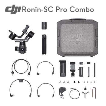 Original DJI Ronin SC/Ronin-SC Pro Combo Professional Camera Control 3-axis Stabilization 2 kg Tested Payload Capacity - DISCOUNT ITEM  5% OFF Consumer Electronics