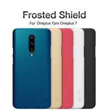 For oneplus 7 Case One plus 7 pro Cover NILLKIN Super Frosted Shield Matte PC back cover case for Oneplus 7 pro 7T gift holder стоимость