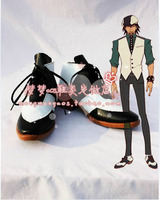 Original Custom made Tiger and Bunny Kotetsu T. Kaburagi Cosplay Shoes