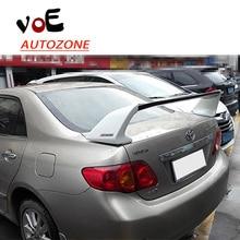 2003-2016 Corolla ABS Пластик Неокрашенный Спорт Стиль задний спойлер для Toyota Corolla