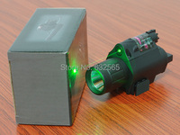 2 in 1 Tactical M6 CREE LED 200LM Laser Flashlight Combo/Light + Green Laser Sight w/ Tail Switch for Hunting