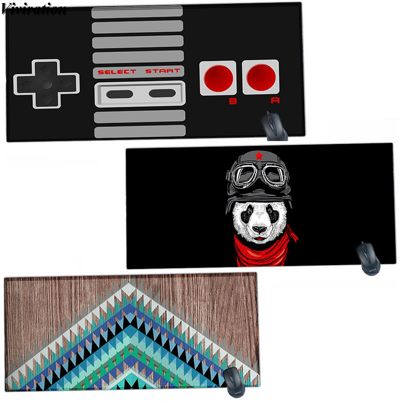 Top Selling 900x400mm Big Gaming Mouse Pad Mat Viviration Table Computer Mouse Pad Mat Non-slip Locked Edge Rubber Mouse Mat Pad