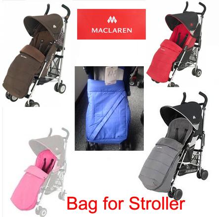 Maclaren Original Muñeca Cochecito dormir Pies Cubren bolsas térmicas bolsa de pañales cochecito cochecitos de bebé Accesorios para sillas de ruedas