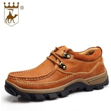Men 100% Genuine Leather Flats Driving Shoes England Trend Male Footwear Men's Lace Up Casual Business Shoes AA20519