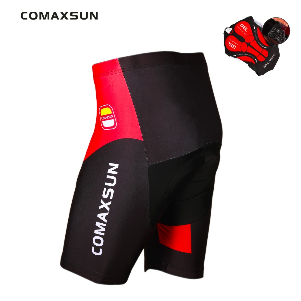 COMAXSUN Cycling Shorts 3D Gel Padded Shockproof MTB Bike Shorts Road Bicycle Shorts Outdoor Sports Ropa Ciclismo Tight
