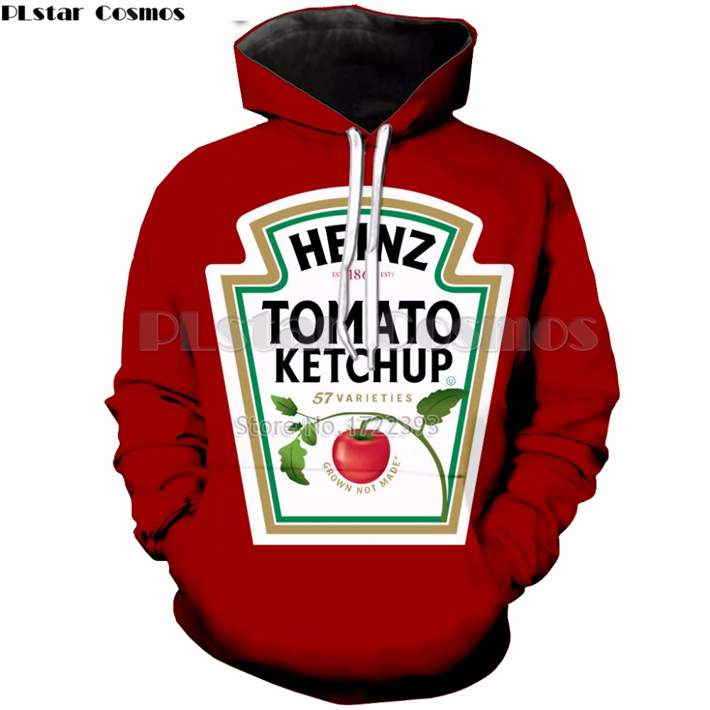 Men's Clothing Objective Plstar Cosmos Delicious Food French Fries/chocolate/chicken 3d Print Hoodie 2018 New Style Fashion Mens/womens Hooded Sweatshirt Selected Material
