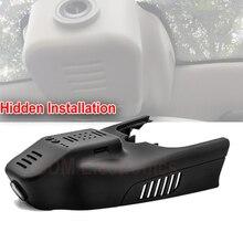 Freeshipping 1080 P oculta instalación WIFI caja negra del coche dash cámara grabadora Para 2015 BENZ CLA200 GLA series