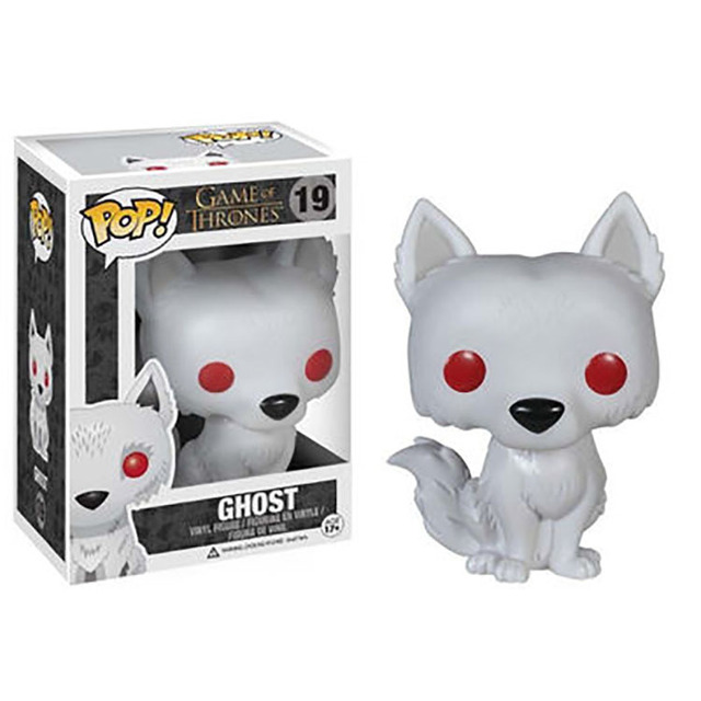 Funko POP Game of Thrones Nymeria 76# JON SNOW ROBB Vinyl Action Figures Toys GiftsAction & Toy Figures