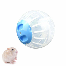 Transparent Pet Hamster Running Ball Plastic Hamster Jogging Training Toy Small Animals Toys
