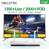 Leadcool Best Android TV Set Top Box Qhdtv 900 French Arabic English Languages Sky IT UK