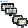 Светодиодный рабочий свет 5 дюймов  36 Вт  72 Вт  6000 К  12 В  светодиодная Автомобильная фара для трактора  грузовика  внедорожника  прожектор для ...