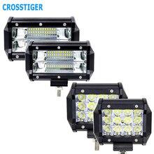 5 дюймов 36 Вт 72 Вт 6000K светодиодный рабочий светильник 12 В светодиодный автомобильный светильник внедорожник для трактора грузовика внедорожника освесветильник для автомобиля