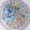 10 unids/lote mezcla patrón de Marca de Moda Los Niños Juguetes de Dibujos Animados 3D Pegatinas Niños niñas Niños PVC Pegatinas Pegatinas de Burbuja