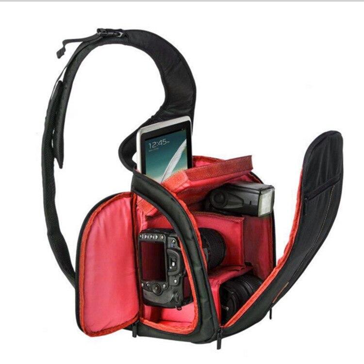 Huwang Camera Bag Waterproof Camera Shoulder Bag Padded Shockproof Camera Case Bag benro cws30 nylon camera bag waterproof shockproof shoulder bag