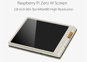 Image 2 - New 2.8 inch TFT LCD Display Touch Screen Monitor 640x480 60+fps For Raspberry Zero W