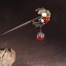 Full Handmade Ancient Costume Hair Sticks Women Headwear  Classic Vintage Ornaments Chinese Ethnic Accessory