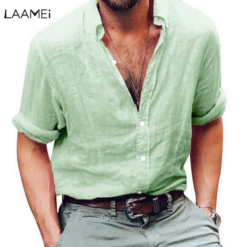 057733152c Buy men shirt linen and get free shipping on AliExpress.com