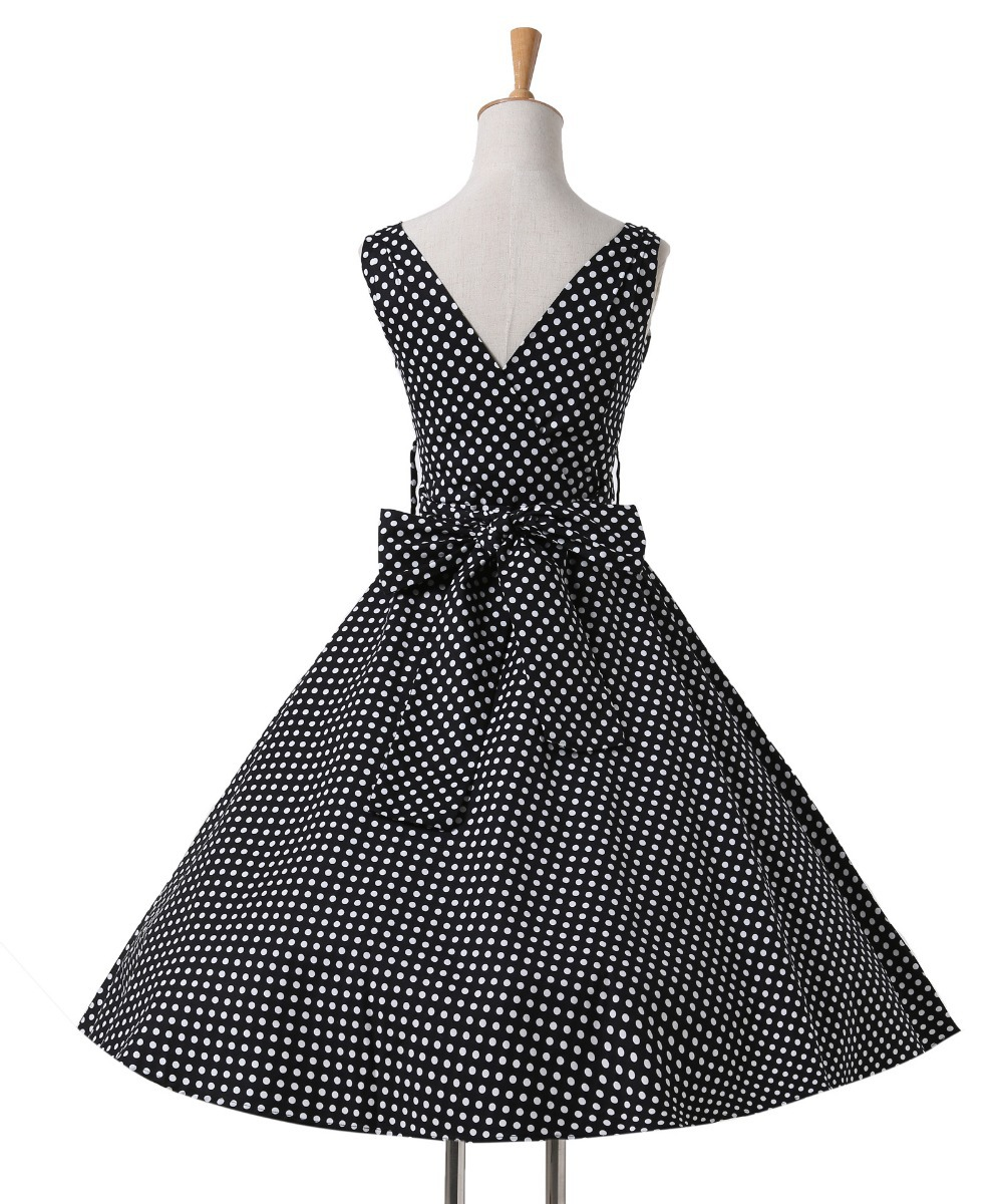 518d1190d37 Hepburn Style 7 Styles 1950 s Rockabilly Swing Evening Pinup Prom Retro  Cotton Dress Plus Size Women Clothing Vestidos CL6295  -in Dresses from  Women s ...
