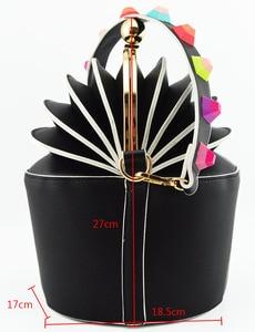 Image 5 - Zapatos y bolsos de diseño italiano a juego, zapatos de fiesta, boda con zapatos y Bolsa de moda, tacones africanos, 8 cm, MD011