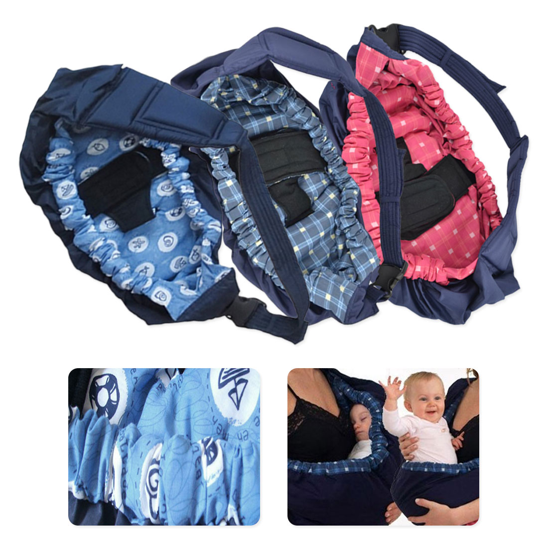 Baby Edle Newborn Front Carrier Sling Infant Soft Wrap Swaddling Kid Nursing Bag Pouch Breastfeed Feeding Carry Bag