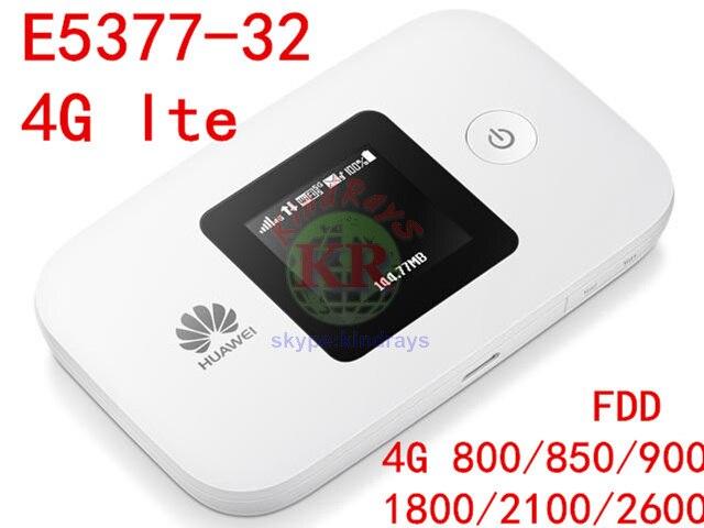Débloqué Huawei E5377 4g wifi Routeur E5377s-32 4g mifi Poche WiFi 3g 4g mifi dongle 4g miFi routeur PK E5577 e5776 e5372 e589