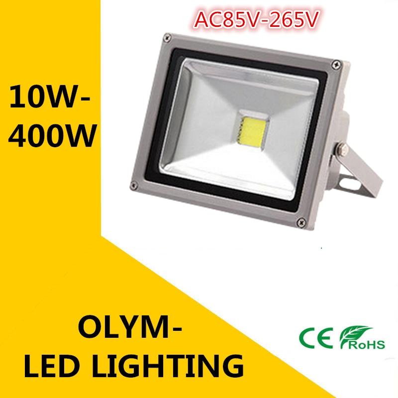 Dhl Led Spotlight Ac85-265v 150w 200w 400w Project-light Ip66 Waterproof Advertising Lamp Garden Lightin 300w Intelligent 1 Pc