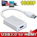 2015 Новое Прибытие USB 3.0 к HDMI HD Кабель Преобразователя мульти Дисплее Графический Адаптер для Портативных ПК Проектор HDTV LCD 1080 P