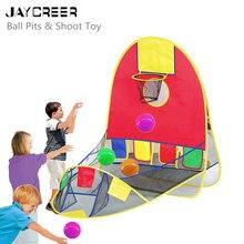 JayCreer дети портативный мяч стрельба палатка, открытый Крытый стрельба Палатка складной игровой дом Баскетбол обруч стрельба палатка