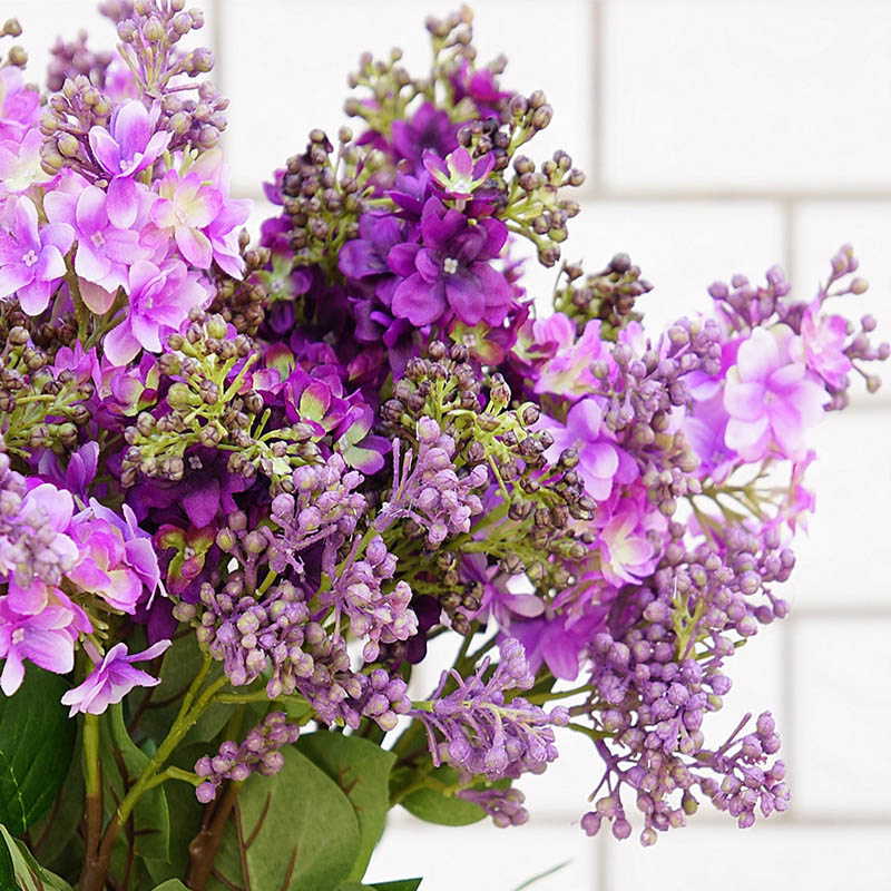 ④Silk Lilac fake flowers home new Year decoration accessories ...