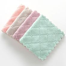 Тряпка антипригарное масло кораллового бархата подвесные полотенца для рук кухонная посуда