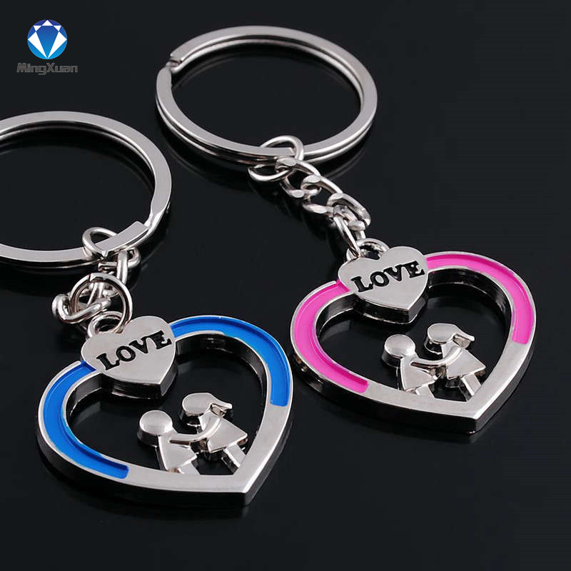 Novelty Items Casual Par Kärlek Keychain Cartoon Key Chain Lovers - Märkessmycken - Foto 6