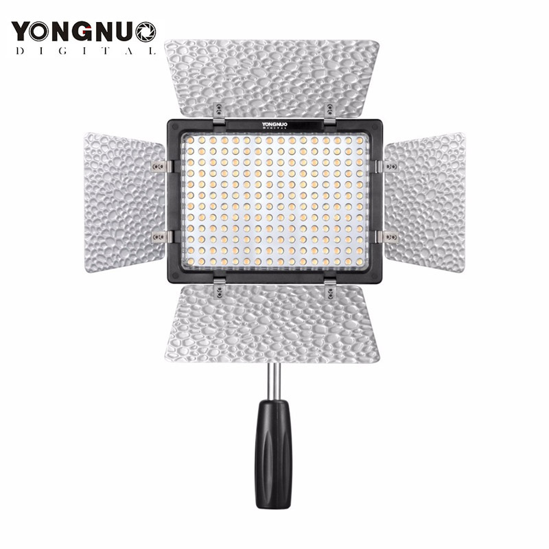 Yongnuo YN-160 III YN160 III LED Video Light Lamp for Canon 650D 5D Mark II 6D 7D 60D 600D 550D + Free Shipping m42 chip adapter af iii confirmation ring for canon eos ef 60d 550d 7d 5d 1100d