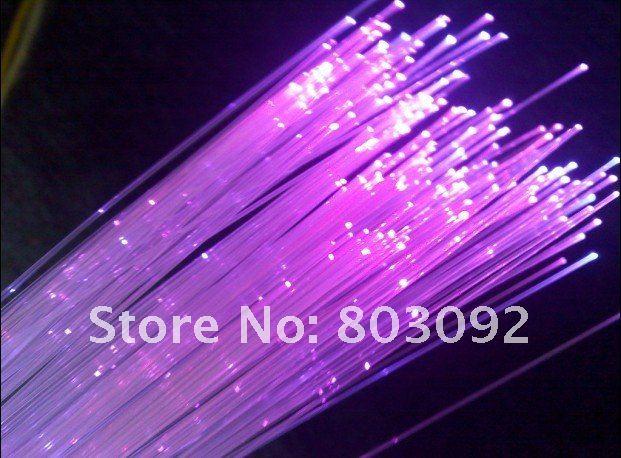 wholesale,high brightness,0.75mm*500pcs*5m length, RGB optic fiber cable kit