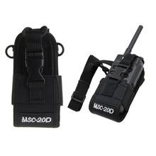 MSC 20D רדיו מקרה מחזיק עבור Baofeng UV3R + בתוספת Puxing PX 777 בתוספת PX888 K A194
