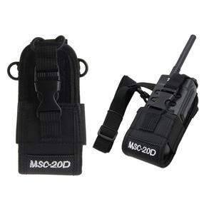 Image 1 - MSC 20D רדיו מקרה מחזיק עבור Baofeng UV3R + בתוספת Puxing PX 777 בתוספת PX888 K A194