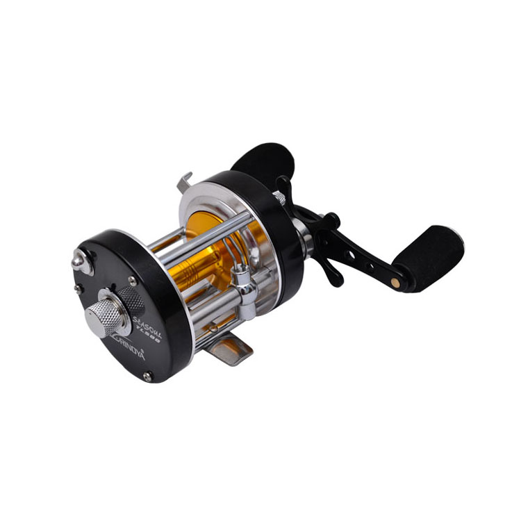 ₪tl500 All Metal 7 1 Left ⊰ Hand Hand Drum Reels Trolling Boat N 186 Reel Reel Snakehead Fishing
