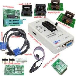 Darmowa wysyłka RT809F programista + 4 gniazdo testowe + 1.8 V adapter + TSSOP8/16 do dip 16 sop8 klip VGA LCD oryginalny programista