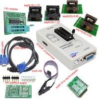 Free shipping RT809F programmer+ 4 test socket +1.8V adapter +TSSOP8/16 to dip 16 sop8 clip VGA LCD original programmer