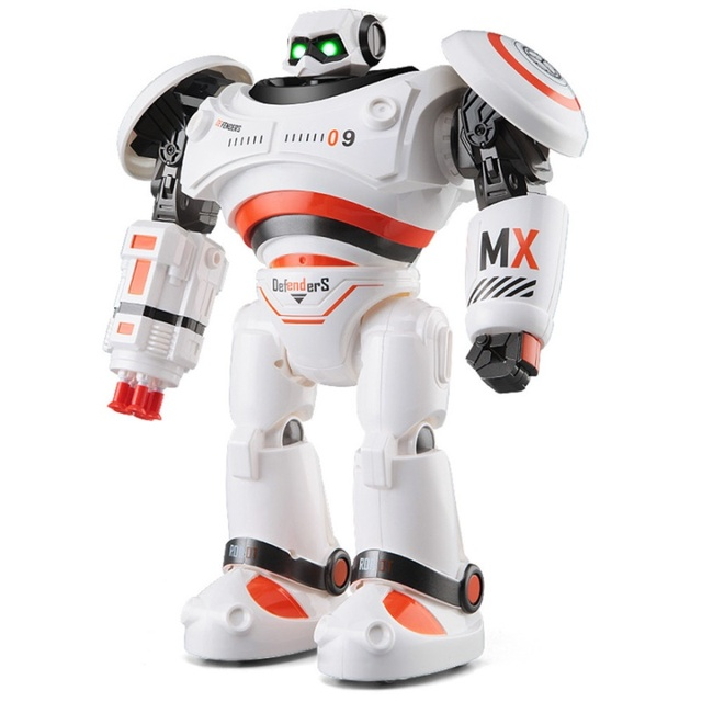 JJRC R1 Intelligent Programmable Walking Dancing Combat Defenders RC Robot Remote Control Toys for kids Birthday Gift Present